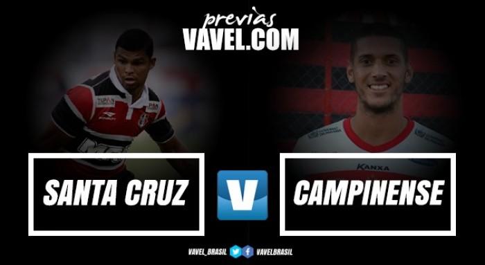 Resultado Santa Cruz x Campinense na Copa do Nordeste (1-0)