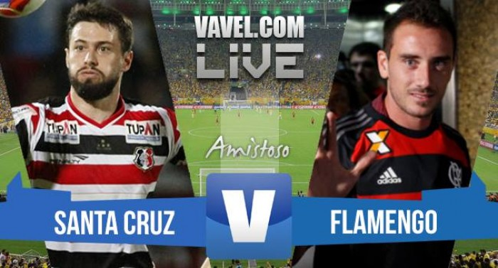 Resultado Santa Cruz x Flamengo pelo Campeonato Brasileiro 2016 (0-1)