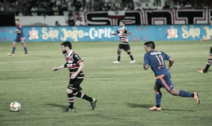 Santa Cruz vence Sport pelo placar mínimo e abre vantagem na decisão do Pernambucano