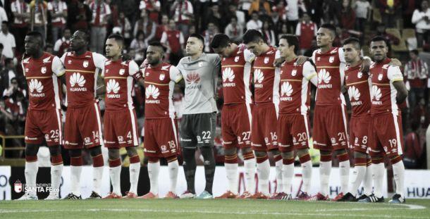 Santa Fe, en 'apuros' en Libertadores y Liga