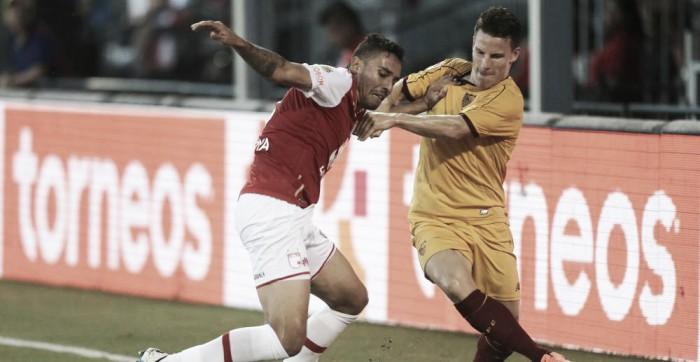 Na estreia de Franco Vázquez e Sarabia, Sevilla vence Santa Fé pela Copa Euroamericana