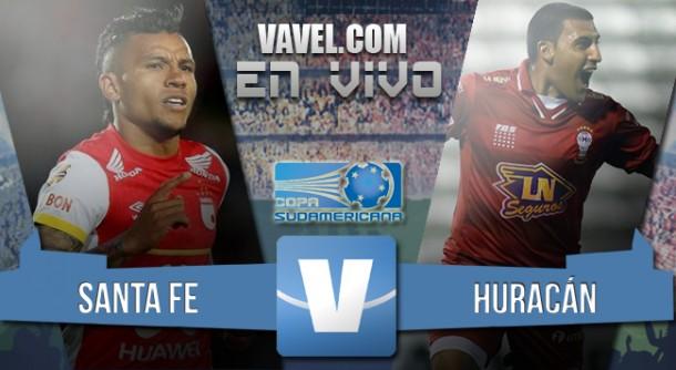 Resultado Santa Fe - Huracán en la final Copa Sudamericana (0-0) -[3-1]