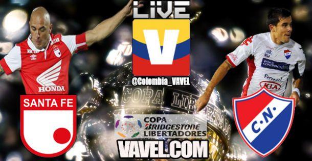 Copa Libertadores: Santa Fe vs Club Nacional, en vivo