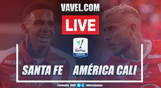 Santa Fe vs América de Cali EN VIVO: seguir transmisión en directo online en Liga BetPlay | 21/02/2020 - VAVEL Colombia