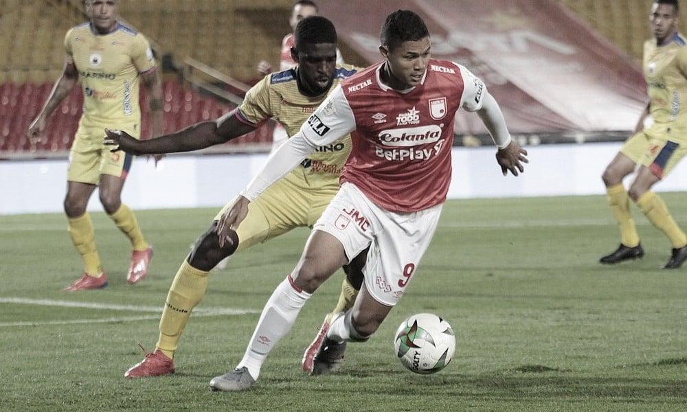 Santa Fe rescata un punto en 'El Campín' ante Deportivo Pasto