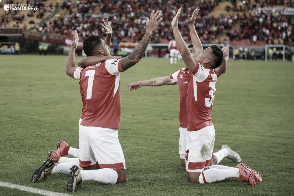 Después de 302 días, Santa Fe vuelve a ganar de local por Liga ante Independiente Medellín