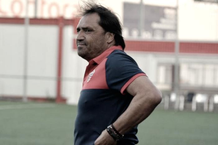 Alfredo Santaelena, cesado como entrenador del Sanse
