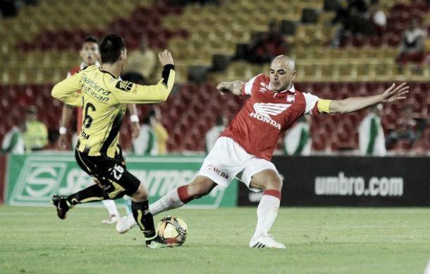 Resultado Santa Fe vs Alianza Petrolera en la Liga Águila 2015-II (1-1)