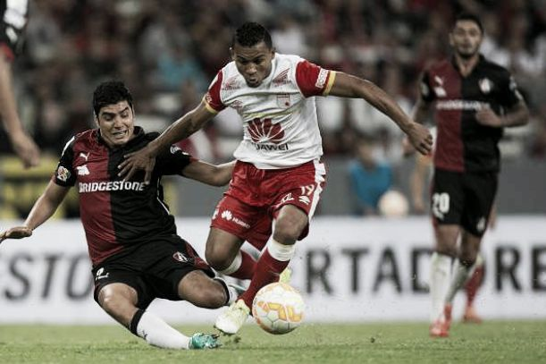 Resultado Independiente Santa Fe - Atlas en Copa Libertadores 2015 (3-1)