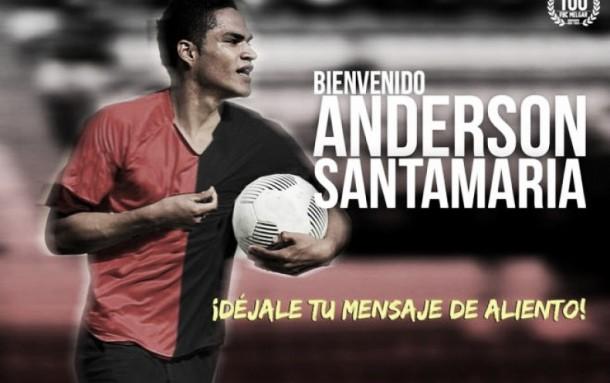 Melgar oficializó el fichaje de Anderson Santamaría