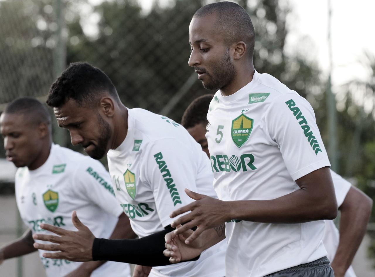 Willians Santana destaca potencial do Cuiabá e acredita na luta pelo acesso