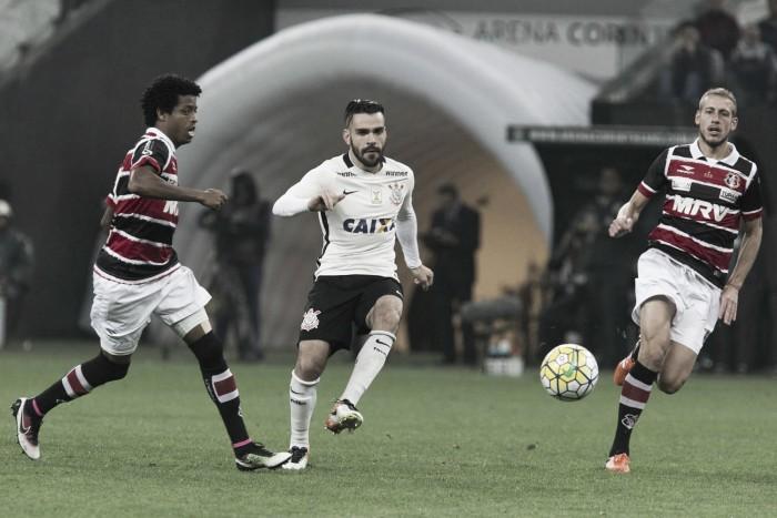 Resultado Santa Cruz x Corinthians na Série A do Campeonato Brasileiro (2-4)