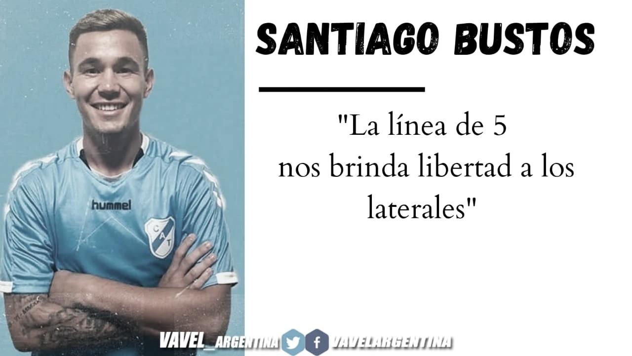 """Santiago Bustos: """"En el Beranger vamos a poder jugar mejor"""""""
