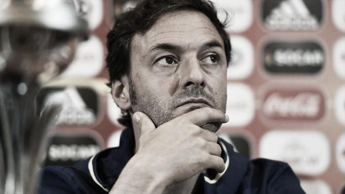 """Santi Denia: """"Los jugadores se han dejado el alma, no les puedo pedir más"""""""