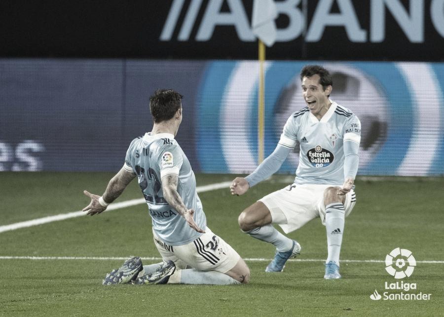 Crónica Celta de Vigo 3-1 Elche FC: Santi Mina no falla dos veces