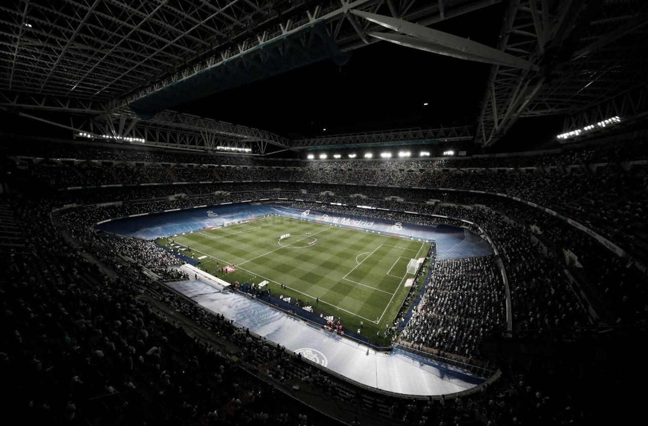 Real Madrid regresó al Santiago Bernabéu