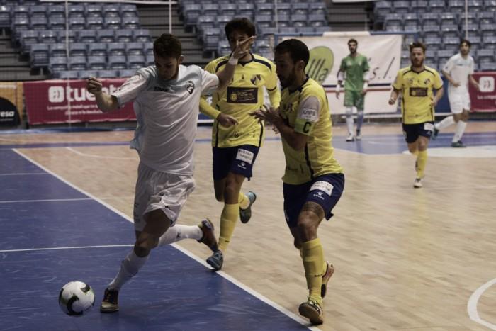 Victoria de prestigio para Santiago Futsal