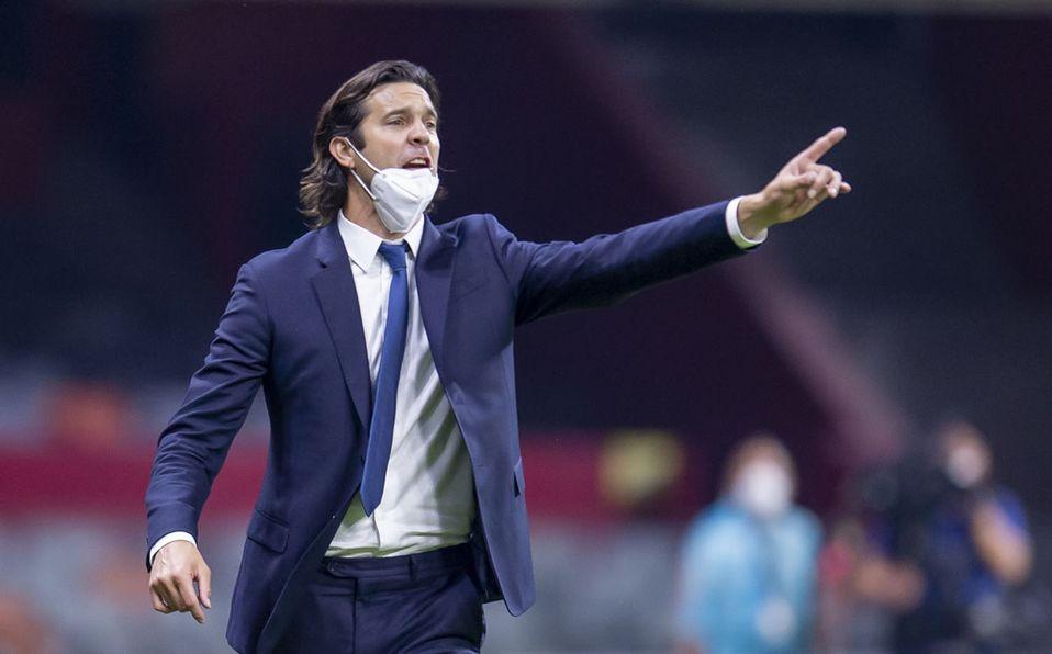"""Santiago Solari: """"La noche fue redonda, merecimos la victoria"""""""