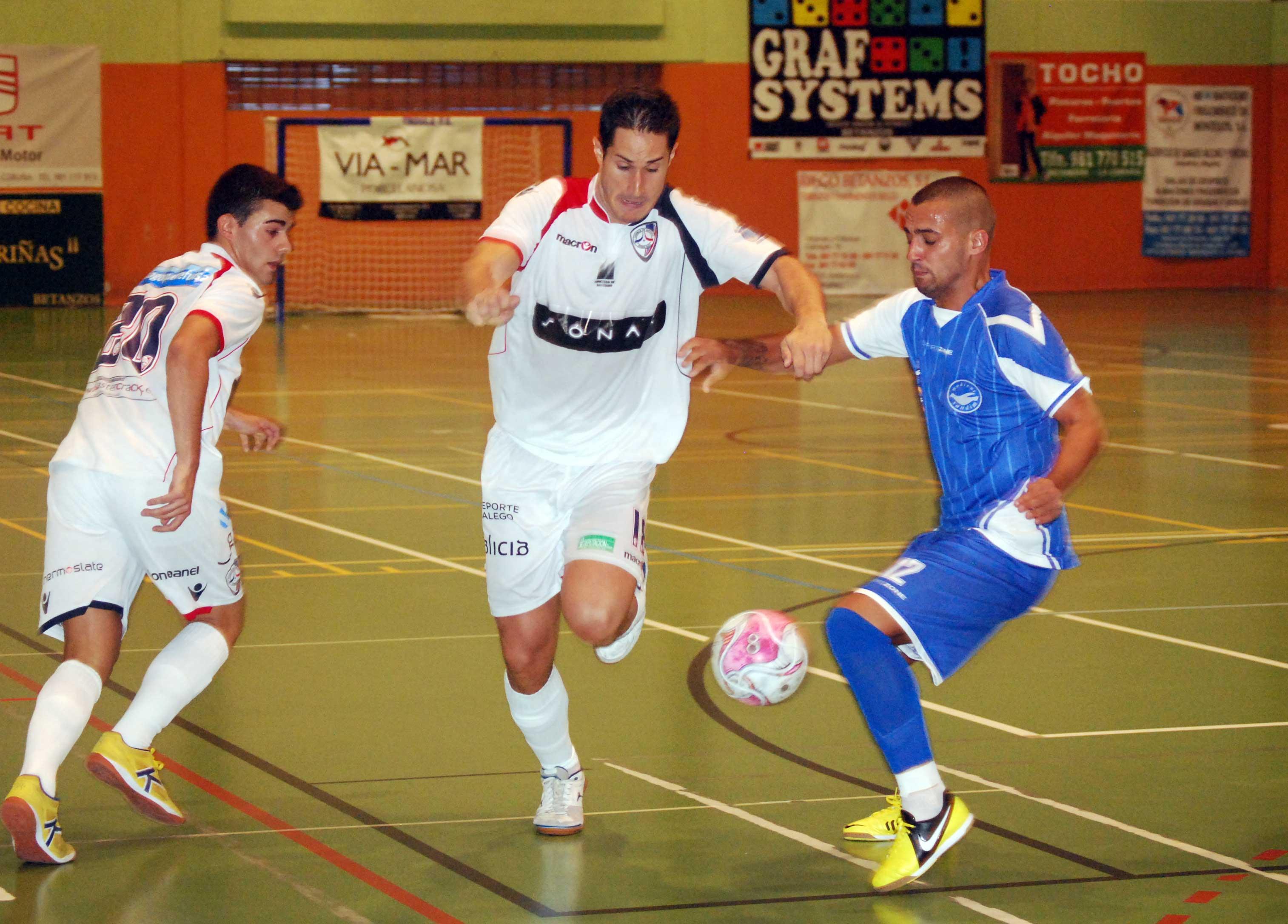 El Santiago Futsal vence al Modicus Sandim en su segundo partido de pretemporada