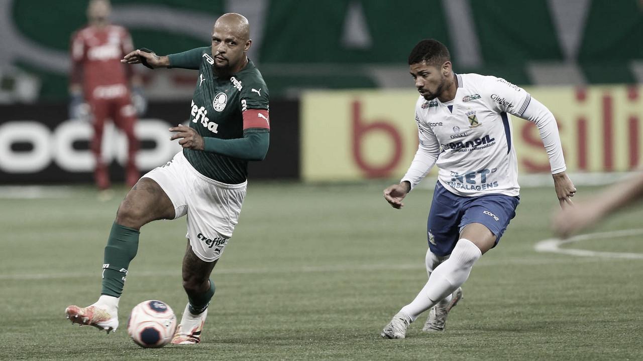 Santo André e Palmeiras se enfrentam em busca de vaga nas quartas do Paulistão