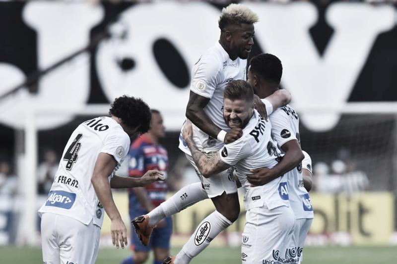 Melhores momentos Chapecoense x Santos pelo Campeonato Brasileiro 2019 (0-1)