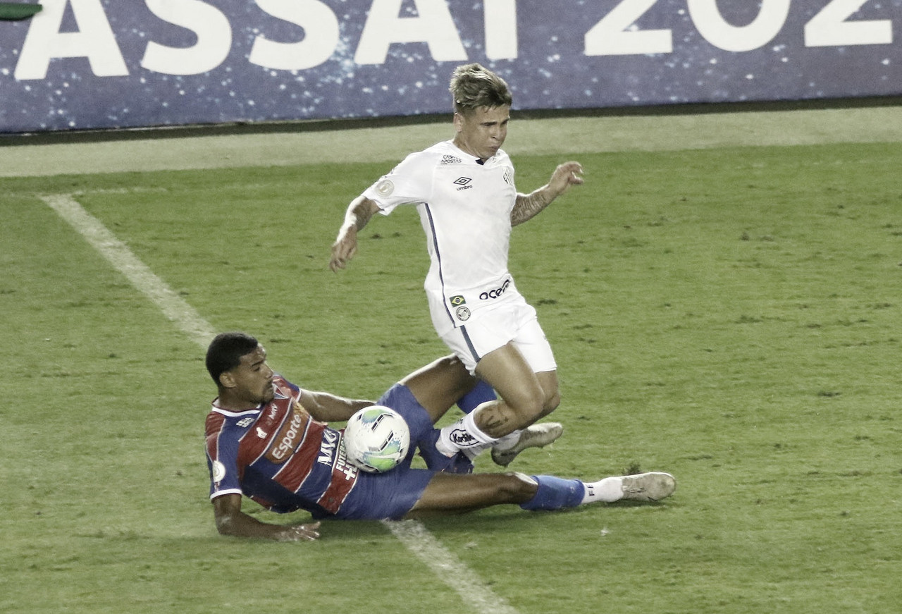 Santos e Fortaleza aproveitam bola parada e empatam na Vila Belmiro