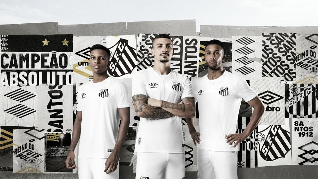 Santos apresenta nova camisa em homenagem à tríplice coroa de 1964