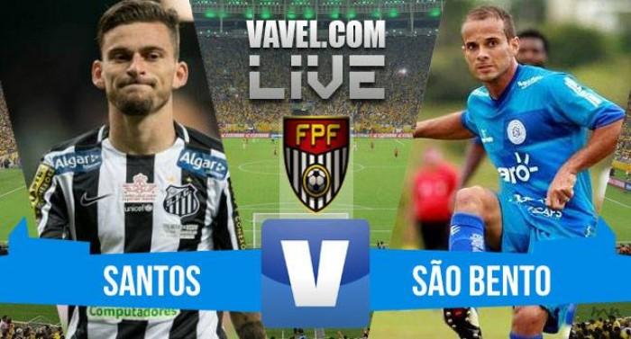 Resultado Santos x São Bento pelas Quartas de Final do Paulistão 2016 (2-0 8dfa528befc58