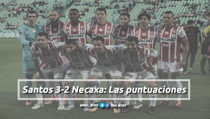 Santos 3-2 Necaxa: puntuaciones de Necaxa en la jornada 10 de la Liga Bancomer MX Apertura 2017