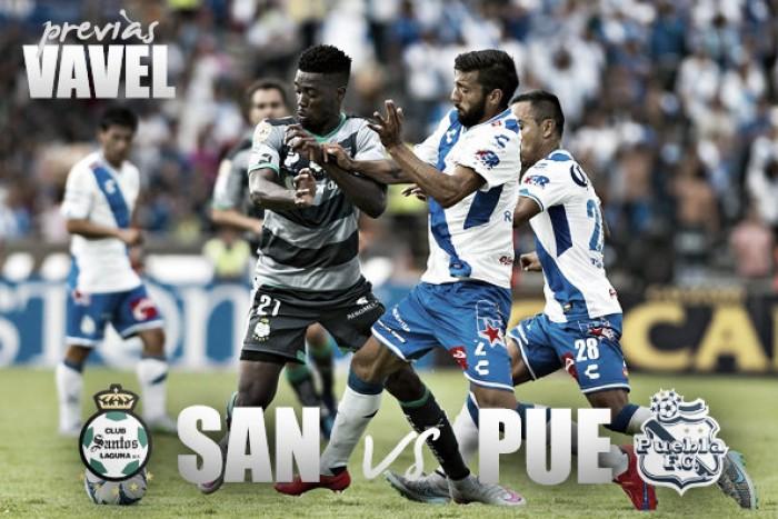 Previa Santos Laguna – Puebla: santos puntos