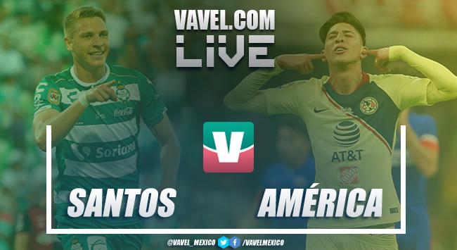 Resumen y goles América 1-1 Santos en Amistoso 2018