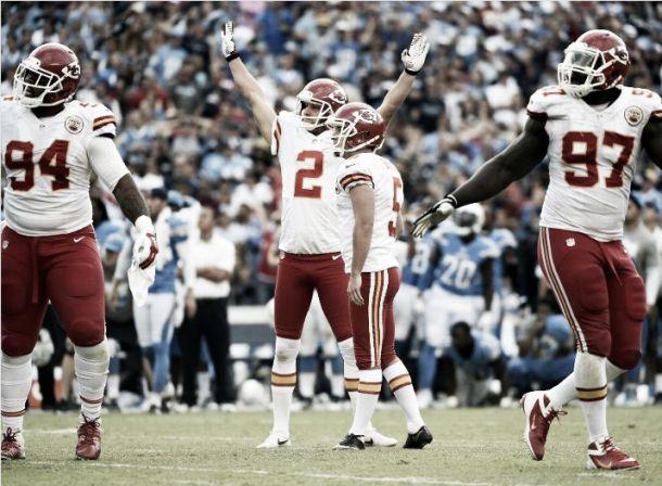 Los Chiefs rompen la racha triunfadora de los Chargers