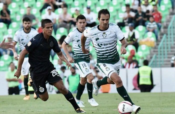 Jóvenes de Chivas quieren revancha con Santos en Copa MX
