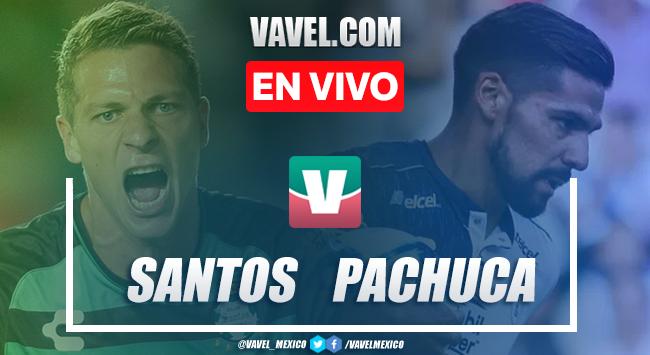 Santos Laguna vs Pachuca en vivo transmisión TV online en Liga MX 2019 (0-0)