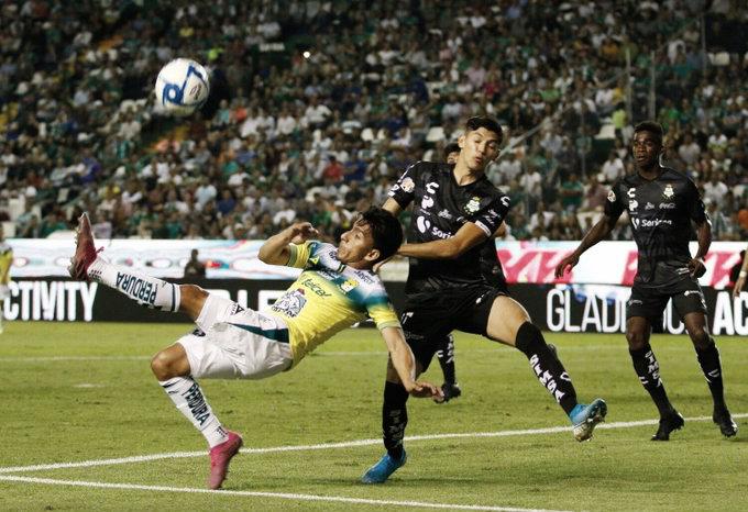 León y Santos brindan trepidante empate