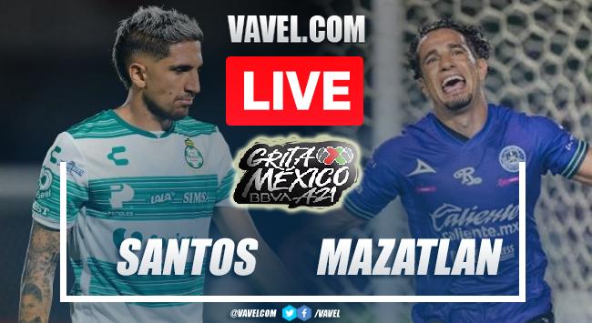 Goal and Highlights of Santos Laguna 1-0 Mazatlan on Apertura 2021 Liga MX