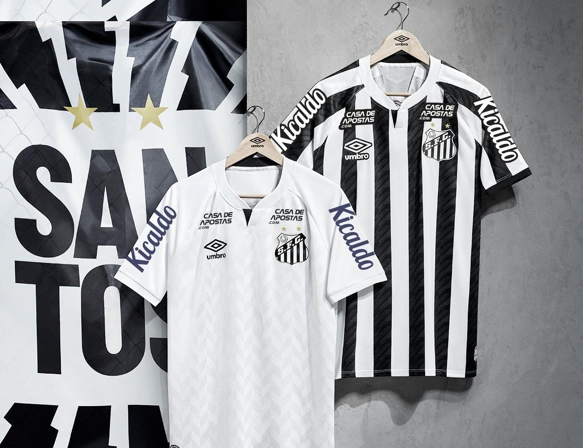 Santos divulga novos uniformes para temporada 2020