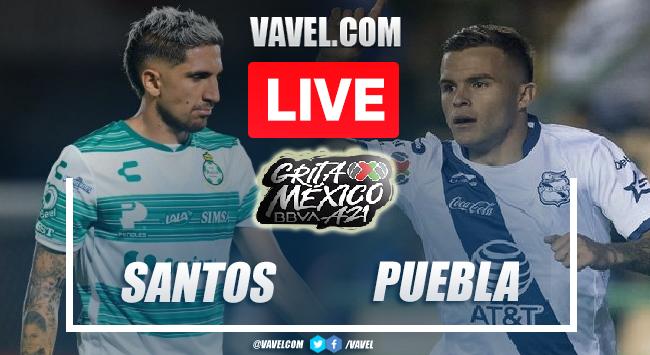 Goals and Highlights: Santos 1-1 Puebla in Liga MX 2021