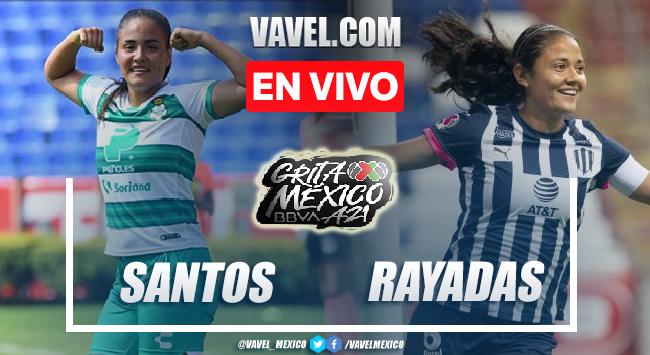 Goles y resumen del Santos Femenil 2-2 Rayadas en Liga MX Femenil 2021