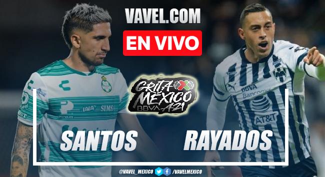 Santos vs Monterrey EN VIVO: ¿cómo ver transmisión TV online en Liga MX?