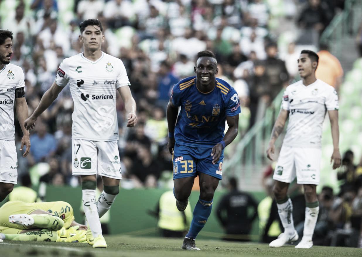 Santos no pudo arrebatarle a Tigres el pase a la final