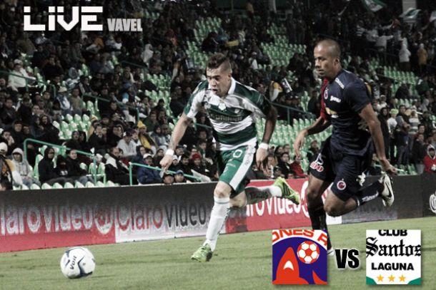 Resultado Veracruz - Santos Laguna en Liga MX 2014 (0-1)