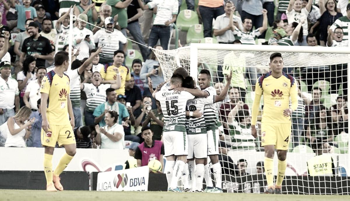 Santos se encamina a la final; América vive el infierno