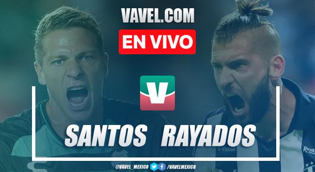 Resumen y video goles Santos Laguna 2-1 Monterrey en Apertura 2019