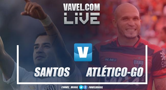Resultado e gols Santos x Atlético GO pela Copa do Brasil 2019