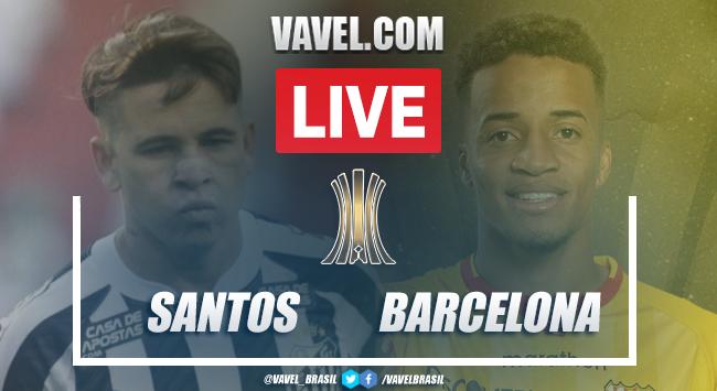 Gols e melhores momentos Santos 0 x 2 Barcelon-EQU
