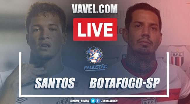 Gols e melhores momentos Santos 0 x 0 Botafogo-SP pelo Campeonato Paulista