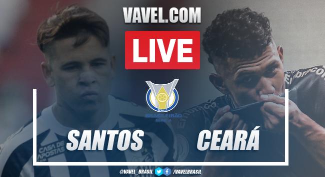 Gols e melhores momentos Santos x Ceará pelo Brasileirão 2020 (1-1)