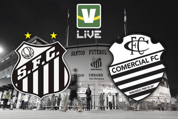 Santos x Comercial, Campeonato Paulista