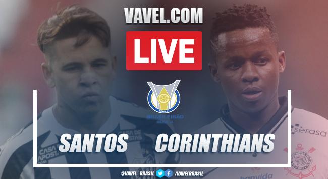 Gol e melhores momentos Santos 1 x 0 Corinthians pelo Campeonato Brasileiro